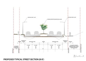 Full size cross section rendering of Tidwell