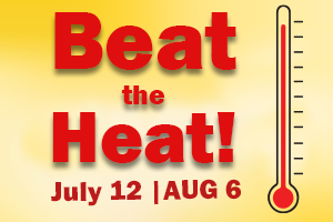 Beat the Heat at a Cooling Center until August 6