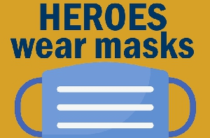 HEROES wear masks: Covid-19 mask up initiative