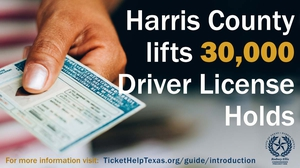Visit Ticket Help Texas more information on lifted holds and license renewal