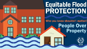 Equitable Flood Protection: Who you know shouldn't matter! People over Property.
