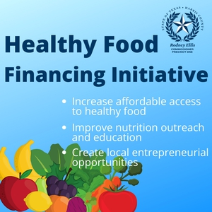Healthy Food Financing Initiative: Increase affordable access to healthy food; Improve nutrition outreach and education; Create local entrepreneurial opportunities